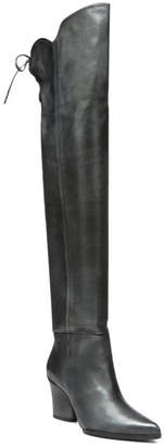 Donald J Pliner Leore Leather Tall Boot