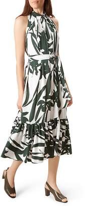 HOBBS LONDON Maida Shirred-Hem Dress $395 thestylecure.com