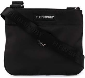 Plein Sport logo crossbody messenger bag