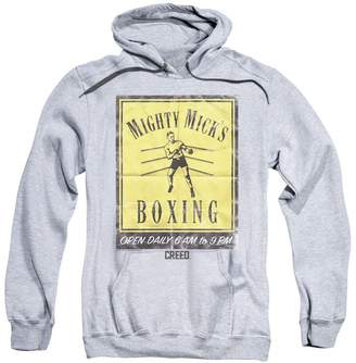 Trevco Creed Drama Boxing Sports Movie Mighty Mick's Gym Poster Adult Pull-Over Hoodie
