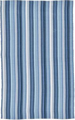 ABC Home Stripe Flat Weave Cotton Rug - 5'x8'