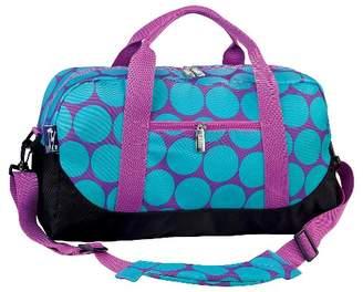 Wildkin Big Dot Duffel Bag - Aqua $17.29 thestylecure.com
