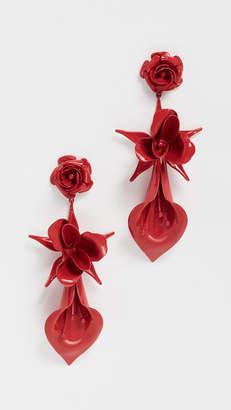 Jennifer Behr Rosette Earrings