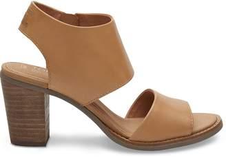 Toms Sandstorm Leather Women's Majorca Cutout Sandals