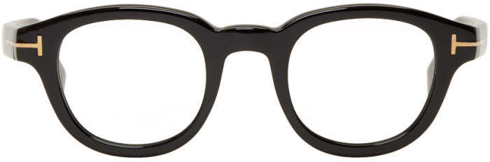 Tom Ford Black Round Glasses