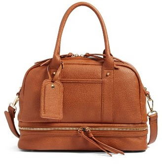 Sole Society Mai Mini Faux Leather Satchel - Brown $59.95 thestylecure.com