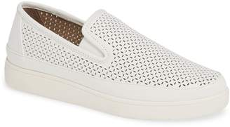 Donald J Pliner Maddox Perforated Slip-On Sneaker