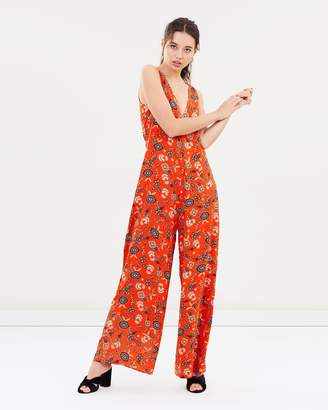 Russian Doll Wide Leg Jumpsuit