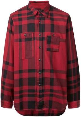 Engineered Garments classic checked shirt