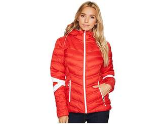Spyder Vintage Hoodie Synthetic Down Jacket Women's Coat