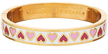 Kate Spadekate spade new york Unlock My Heart Idiom Bangle Bracelet