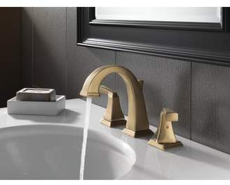 Delta Dryden Widespread Bathroom Faucet with Drain Assembly and Diamond Seal Technology
