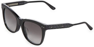 Bottega Veneta 54Mm Cat Eye Sunglasses