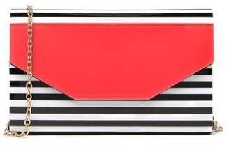 Like Dreams Stripe Envelope Clutch
