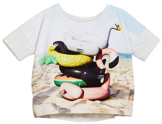 Molo Raeesa Beach Animals T-Shirt, Size 3-12