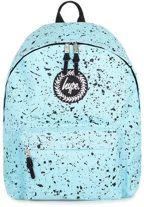 Hype HYPE'S Black Paint Speckle Print Backpack*