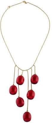 Baccarat 18K Crystal Tantacion Necklace