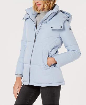 Calvin Klein Hooded Puffer Coat