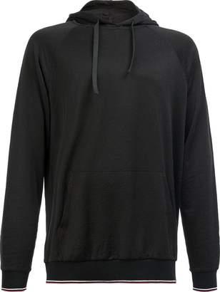 Lanvin classic striped hem hoodie