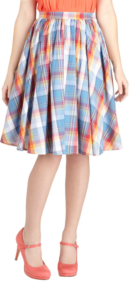 Rainbow Road Trip Skirt