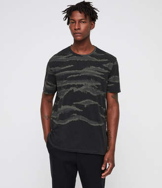 AllSaints Brushed Camo Crew T-Shirt