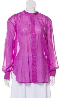 Etoile Isabel Marant Long Sleeve Button-Up Blouse w/ Tags