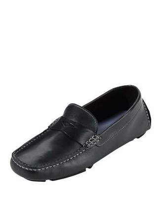 Cole Haan Trillby Leather Driver, Black $150 thestylecure.com