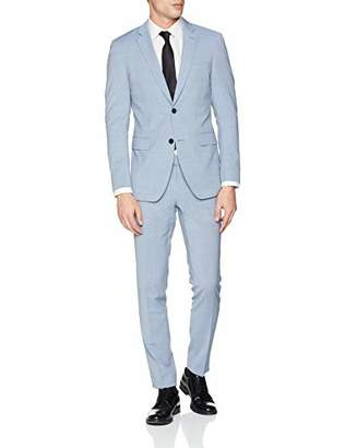Esprit Men's 029eo2m004 Suit, Light Blue 4, (Size: 56)