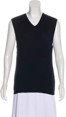 Ralph Lauren Purple Label Sleeveless Knit Top
