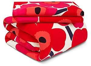 Marimekko Unikko Two-Piece Floral Cotton Duvet Cover Set - Size King