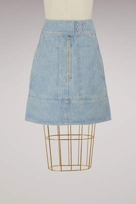 Isabel Marant Natalia cotton skirt