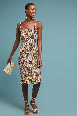 Faithfull Smocked Linen Dress