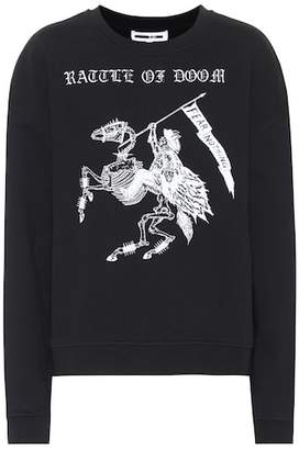 McQ Fear Nothing cotton sweatshirt