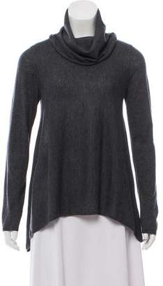 Alice + Olivia Wool-Cashmere Blend Knit Sweater