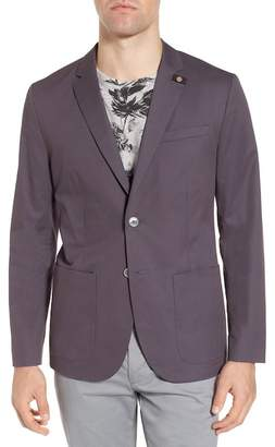 Ted Baker Cliford Trim Fit Stretch Cotton Blazer