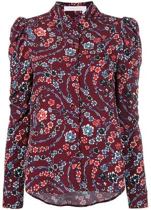 See by Chloe flower printed blouse