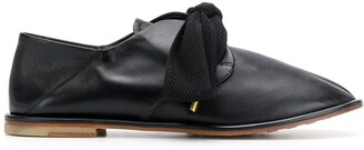 AGL bow-detail loafers