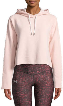Under Armour Microthread Fleece Cropped Hoodie