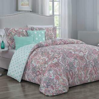 Blush Lingerie Dominique 5-piece Comforter Set