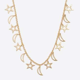 J.Crew Factory Stars and moons necklace