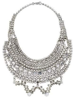 Tom Binns Crystal Statement Collar Necklace