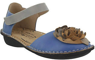 Spring Step L'Artiste by Leather Mary Jane Flats - Caicos
