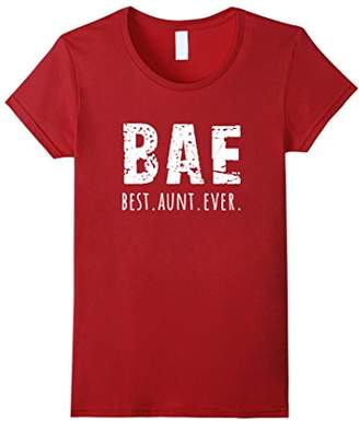 Best Aunt Ever (BAE) T-shirt - Cute Shirt for Aunt