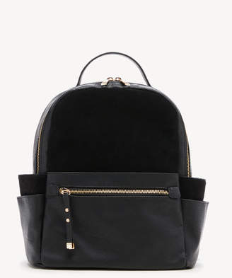 Sole Society Women's Chele Backpack 2 Suede Black One Size Faux Leather From