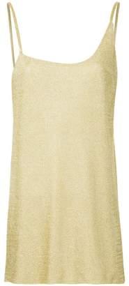 Kacey Devlin asymmetric side split vest
