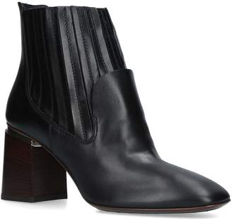 Tod's Leather Block Boots