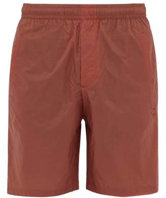 Acne Studios Romeo Ripstop Shorts - Mens - Orange