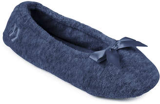Isotoner Womens Slip Resistant Ballerina Slippers
