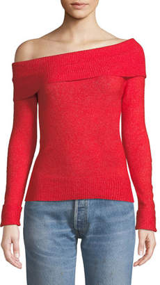 Lovers And Friends Eden Off-Shoulder Pullover Sweater