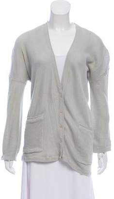 Inhabit Button-Up Long Sleeve Cardigan